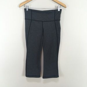 Lululemon Gather & Crow Crop Gray Pants Athletic